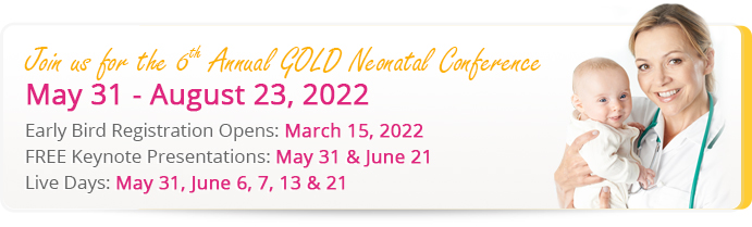GOLD Conference Schedule